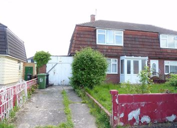 Thumbnail 3 bed semi-detached house for sale in Monnow Crescent, Hereford, Herefordshire