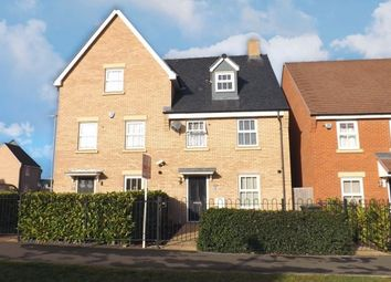Thumbnail 4 bed semi-detached house to rent in Venus Avenue, Biggleswade