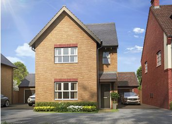 "Thumbnail 3 bed detached house for sale in ""The Hatfield "" at Bannold Road, Waterbeach, Cambridge"