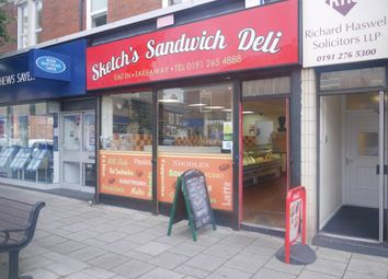 Thumbnail Commercial property for sale in Sketch's Sandwich Deli, 262 Chillingham Road, Heaton