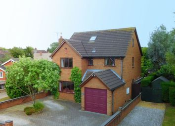Thumbnail 5 bed detached house for sale in Millbeck Close, Weston, Crewe
