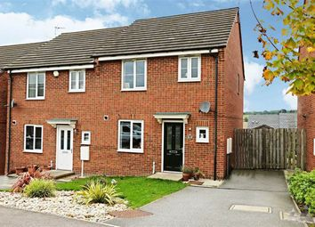 Thumbnail 3 bedroom semi-detached house for sale in East Street, Doe Lea, Chesterfield, Derbyshire