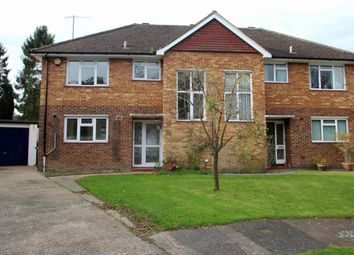 Thumbnail 3 bed semi-detached house to rent in Hatchgate, Horley