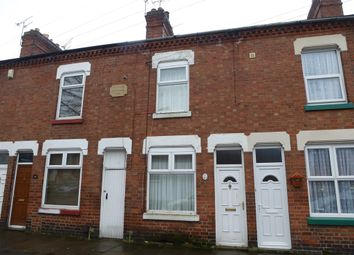 Thumbnail 3 bed terraced house for sale in Avenue Road Extension, Leicester