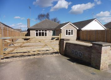 Thumbnail 3 bed detached bungalow for sale in Church Road, Walsoken, Wisbech