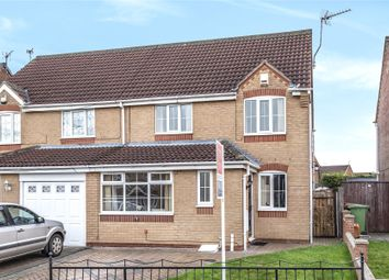 Thumbnail 3 bed semi-detached house for sale in Nelson Way, Laceby Acres
