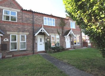 Thumbnail 2 bed terraced house to rent in Kelfield Road, Riccall, York