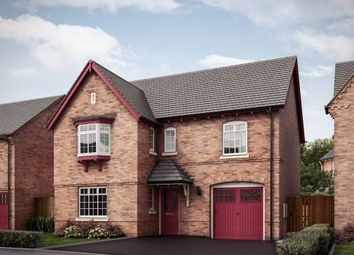 "Thumbnail 4 bed detached house for sale in ""The Farnhill W Third Edition"" at Grange Road, Hugglescote, Coalville"