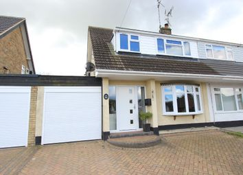 Thumbnail 3 bed semi-detached house for sale in Clayspring Close, Hockley
