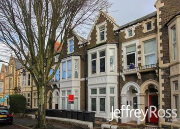 Thumbnail 3 bed property to rent in Connaught Road, Roath, Cardiff
