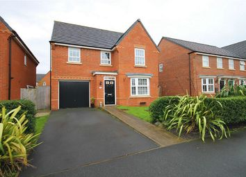 Thumbnail 4 bed detached house for sale in Pasadena Avenue, Great Sankey, Warrington