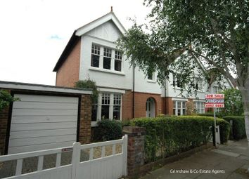 Thumbnail 3 bed property for sale in Woodfield Crescent, Brentham Garden Estate, Ealing