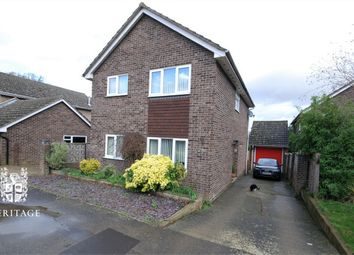 Thumbnail 3 bed detached house for sale in Monks Road, Earls Colne, Essex