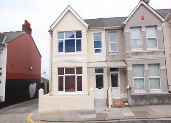 Thumbnail 4 bed end terrace house to rent in Glen Park Avenue, Mutley, Plymouth