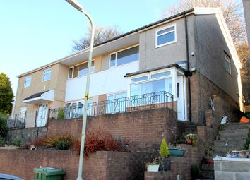 Thumbnail 3 bed semi-detached house for sale in Abbey Close, Taffs Well, Cardiff.