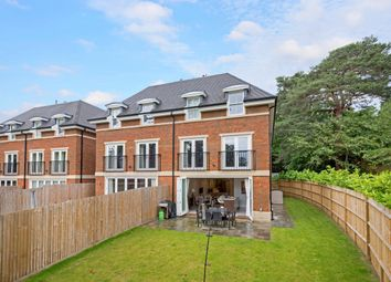 Thumbnail 4 bedroom semi-detached house to rent in Cavendish Road, St. Georges Hill, Weybridge