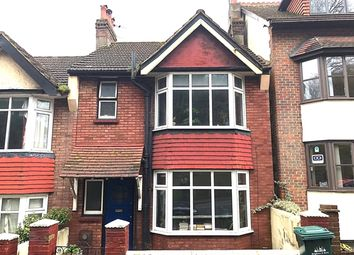 Thumbnail End terrace house to rent in Millers Road, Brighton