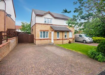 Thumbnail 2 bed semi-detached house for sale in Elder Crescent, Cambuslang, Glasgow