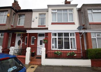Thumbnail 3 bed terraced house for sale in Kingsdale Avenue, Tranmere, Merseyside
