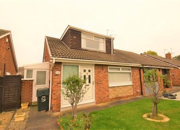 Thumbnail 3 bed semi-detached bungalow for sale in Sherburn Close, Middlesbrough