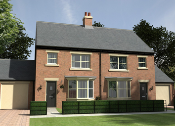 Thumbnail 3 bed detached house for sale in Armstrong Grove, Longframlington