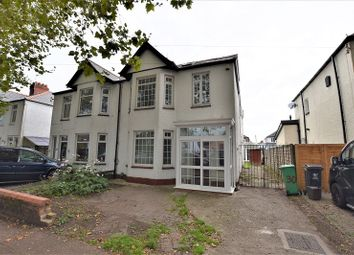 Thumbnail 4 bed semi-detached house for sale in Heathwood Road, Heath, Cardiff.