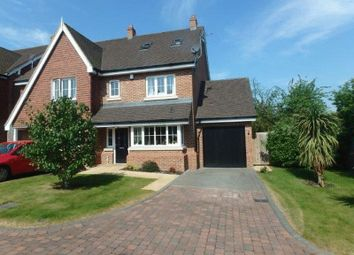 Thumbnail 4 bed semi-detached house for sale in Elder Close, Epsom
