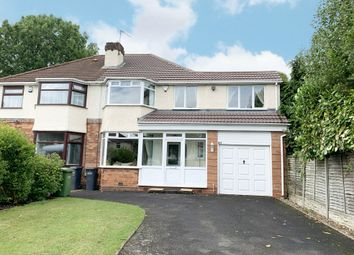 4 bed semi-detached house for sale in Solihull Road, Shirley, Solihull B90