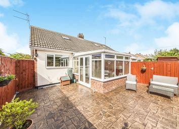 Thumbnail 1 bedroom semi-detached bungalow for sale in Welldale Crescent, Stockton-On-Tees