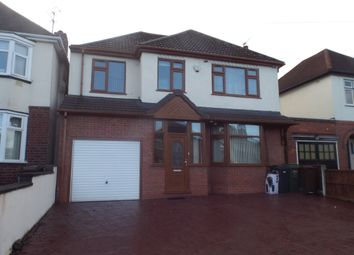 Thumbnail 4 bed detached house to rent in Ribbesford Avenue, Wolverhampton