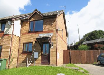 Thumbnail 2 bed terraced house to rent in Ffordd Ddu, Pyle, Bridgend