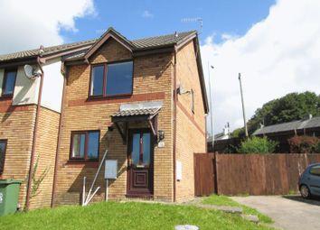 Thumbnail 2 bedroom terraced house to rent in Ffordd Ddu, Pyle, Bridgend