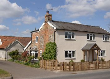 Thumbnail 4 bed cottage for sale in Woolpit Road, Norton, Bury St. Edmunds