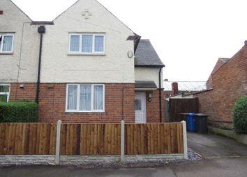 Thumbnail 3 bedroom semi-detached house for sale in Marlborough Road, Allenton, Derby