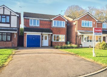 Thumbnail 4 bedroom detached house for sale in Newby Gardens, Oadby, Leicester