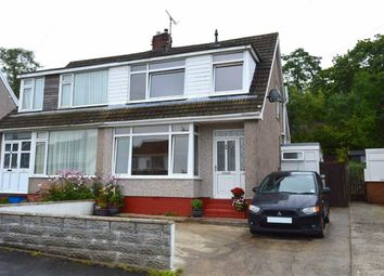 Thumbnail 3 bed semi-detached bungalow for sale in Woodcote, Killay, Swansea