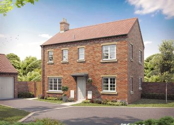 "Thumbnail 3 bed detached house for sale in ""The Flaxby"" at Bishopdale Way, Fulford, York"
