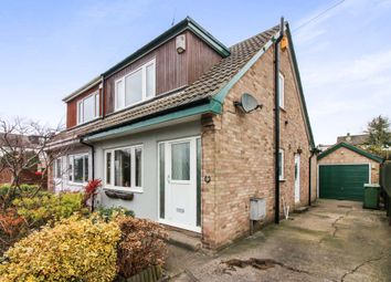 Thumbnail 3 bed semi-detached house for sale in Markham Avenue, Rawdon, Leeds