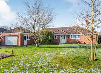 Thumbnail 4 bedroom detached bungalow for sale in Railway Lane South, Sutton Bridge, Spalding