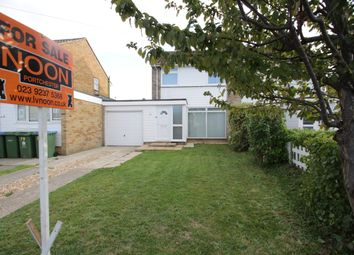 Thumbnail 3 bed semi-detached house for sale in Hatherley Cresent, Portchester