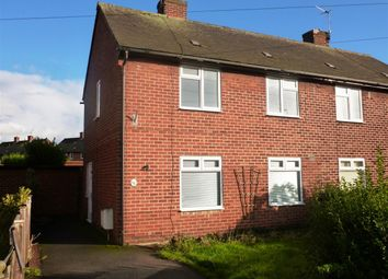 Thumbnail 2 bed semi-detached house to rent in Plover Way, Calow, Chesterfield