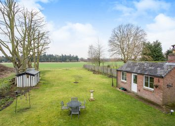 Thumbnail 4 bed detached house for sale in Vicarage Road, Foulden, Thetford