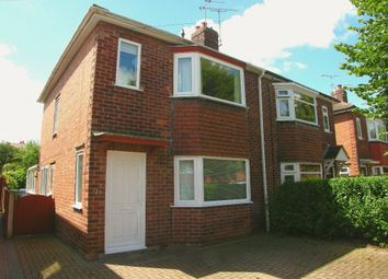 Thumbnail 3 bedroom semi-detached house to rent in Arnold Avenue, Retford
