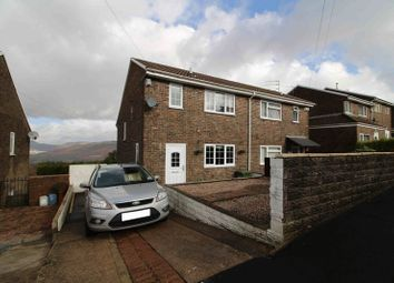 Thumbnail 3 bed semi-detached house for sale in Hilltop Avenue, Cilfynydd, Pontypridd