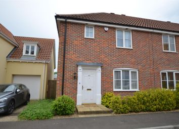 Thumbnail 3 bed end terrace house for sale in Vanguard Chase, Norwich