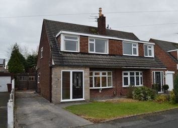 Thumbnail 3 bed semi-detached house to rent in Warwick Drive, Hazel Grove, Stockport