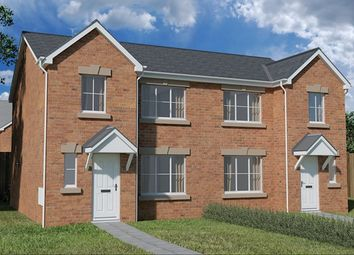 Thumbnail 3 bed semi-detached house for sale in Nant Ffrwd, Beacon Heights, Merthyr Tydfil