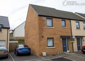 Thumbnail 3 bed semi-detached house for sale in Stock Park, Okehampton, Devon