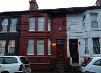 Thumbnail 4 bedroom terraced house to rent in Wadham Road, Bootle, Liverpool