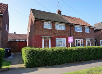 Thumbnail 2 bed end terrace house for sale in Tweed Grove, Hull